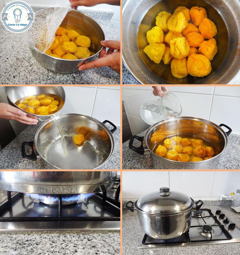 how to make mote con huesillo