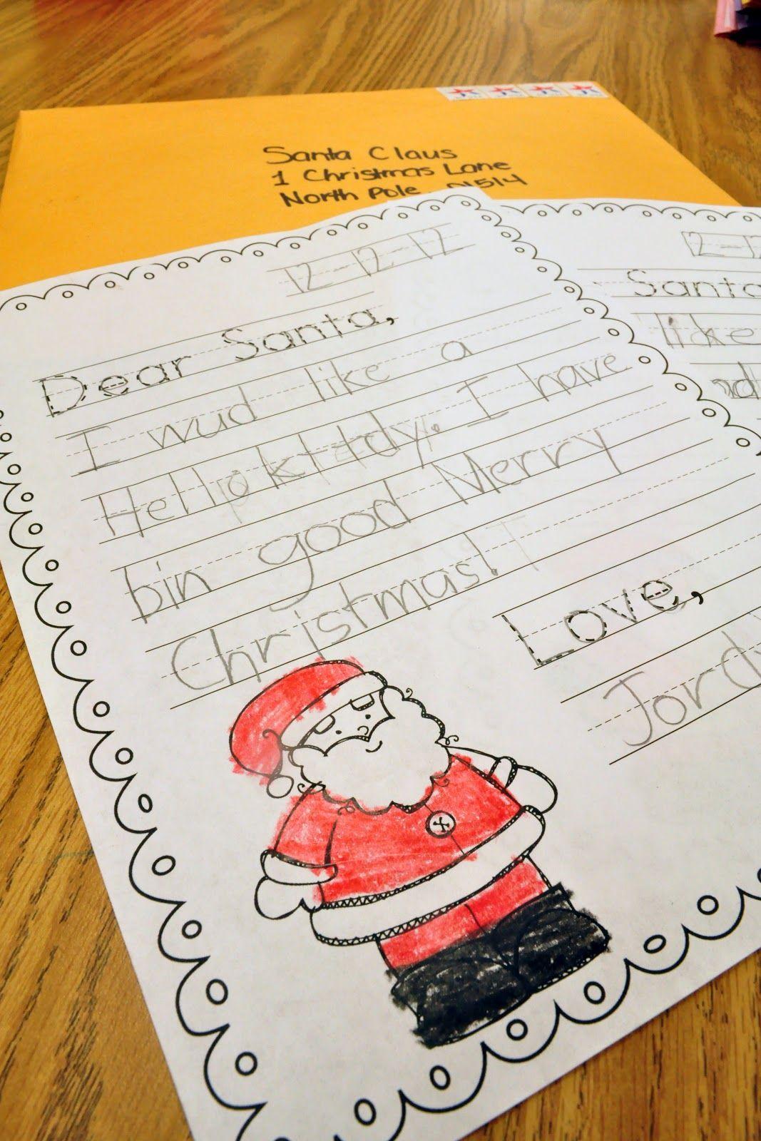Mrs. Ricca\'s Kindergarten: Christmas Crafts & Freebies!   classroom ...