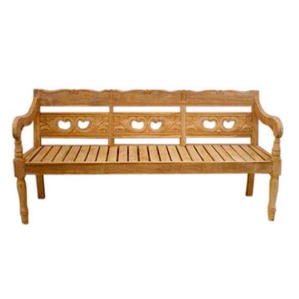 D Art Collection Teak Denpasar 3 Seater Bench Teak Garden Bench Wooden Garden Benches Teak