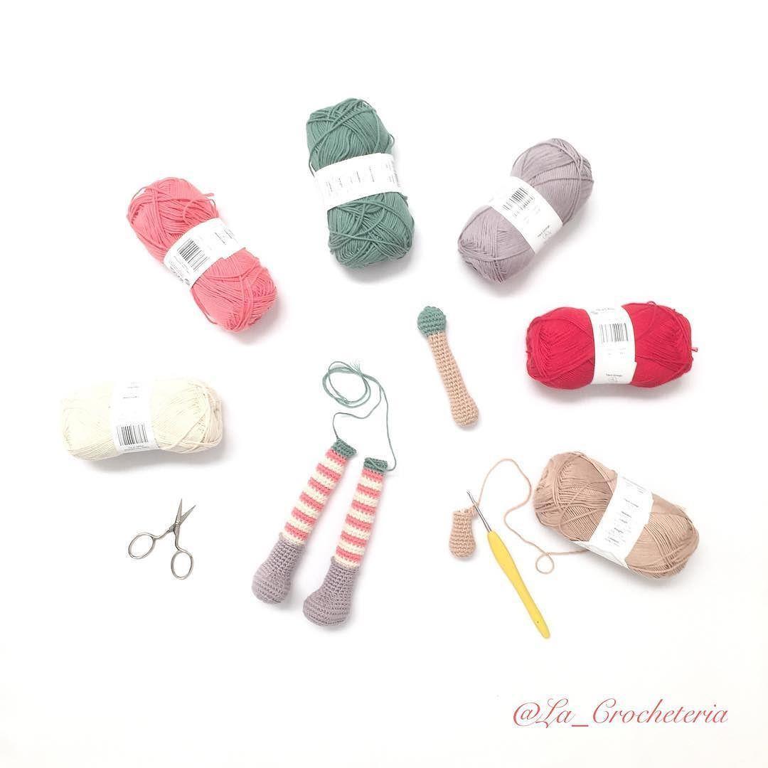 la_crocheteria Con los colores decididos.... Toca continuar  #amano #amigurumi #amigurumis #artesanal #bhooked #craft #crafter #crochet #craftastherapy #diy #dropsdesign #ganchillo #handmade #hechoamano #hallazgosemanal  #whp #whpcolorplay #instagram #instacrochet #muñeca #primavera #tejer #tejiendo #craftastherapy_textures #miniamigurumi #doll