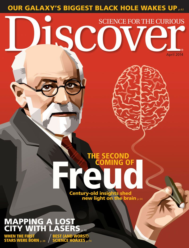 Discover Magazine Cover April 2014