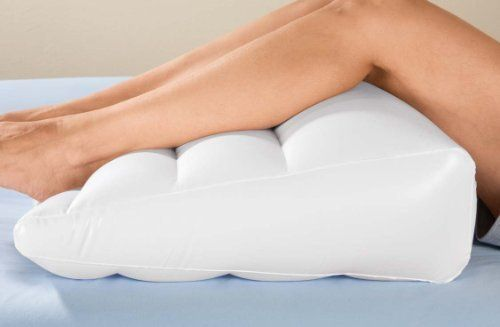 New Inflatable Bed Wedge Air Head Leg Foot Elevation Pill