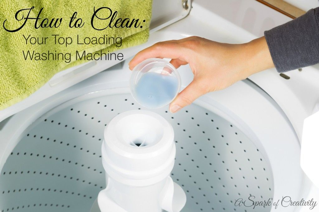 how to clean inside of washing machine top loading