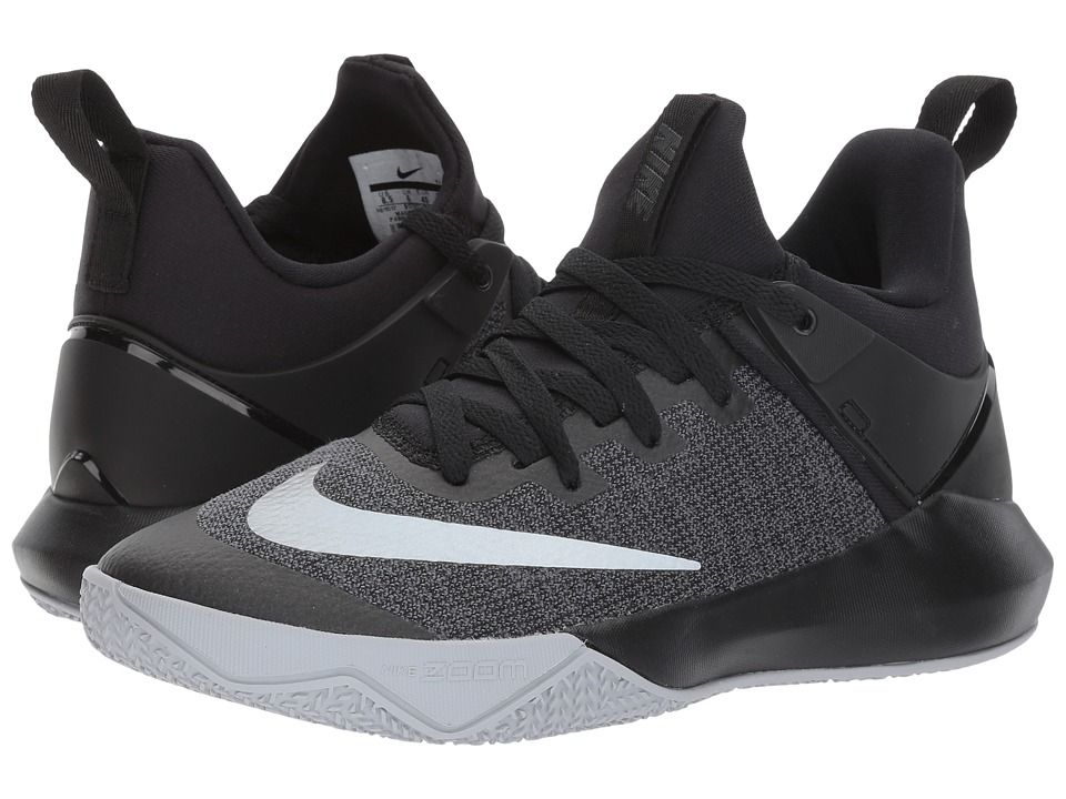 Nike Zoom Shift Women's Basketball Shoes BlackChromeWolf