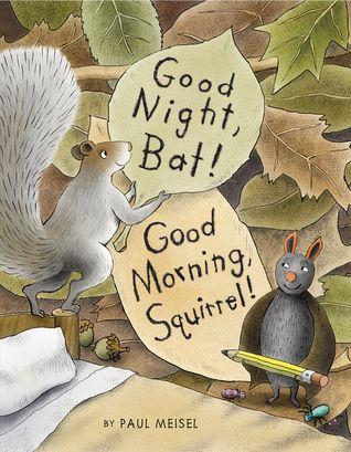 Good Night Bat Good Morning Squirrel By Paul Meisel Reviews