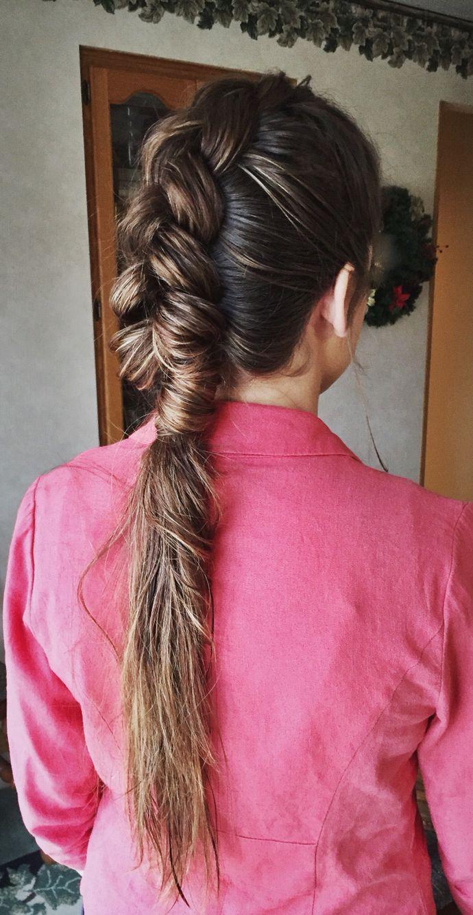 Dutch braid mohawk hair pinterest braided mohawk dutch braids
