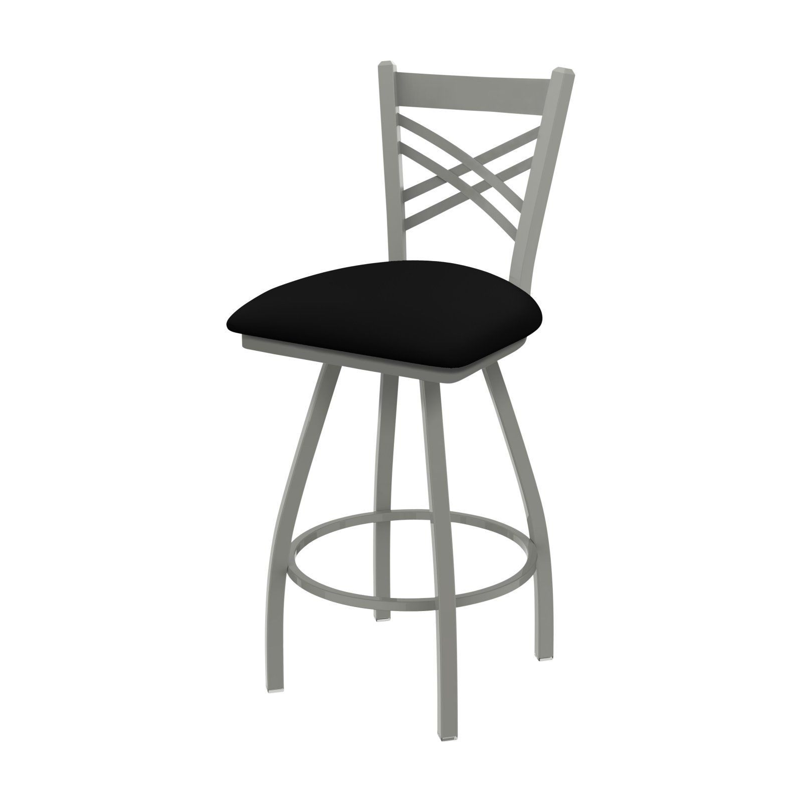 Holland Bar Stool Co Xl 820 Catalina 25 In Faux Leather Swivel Counter Stool Canter Kiwi Green Bar Stools Swivel