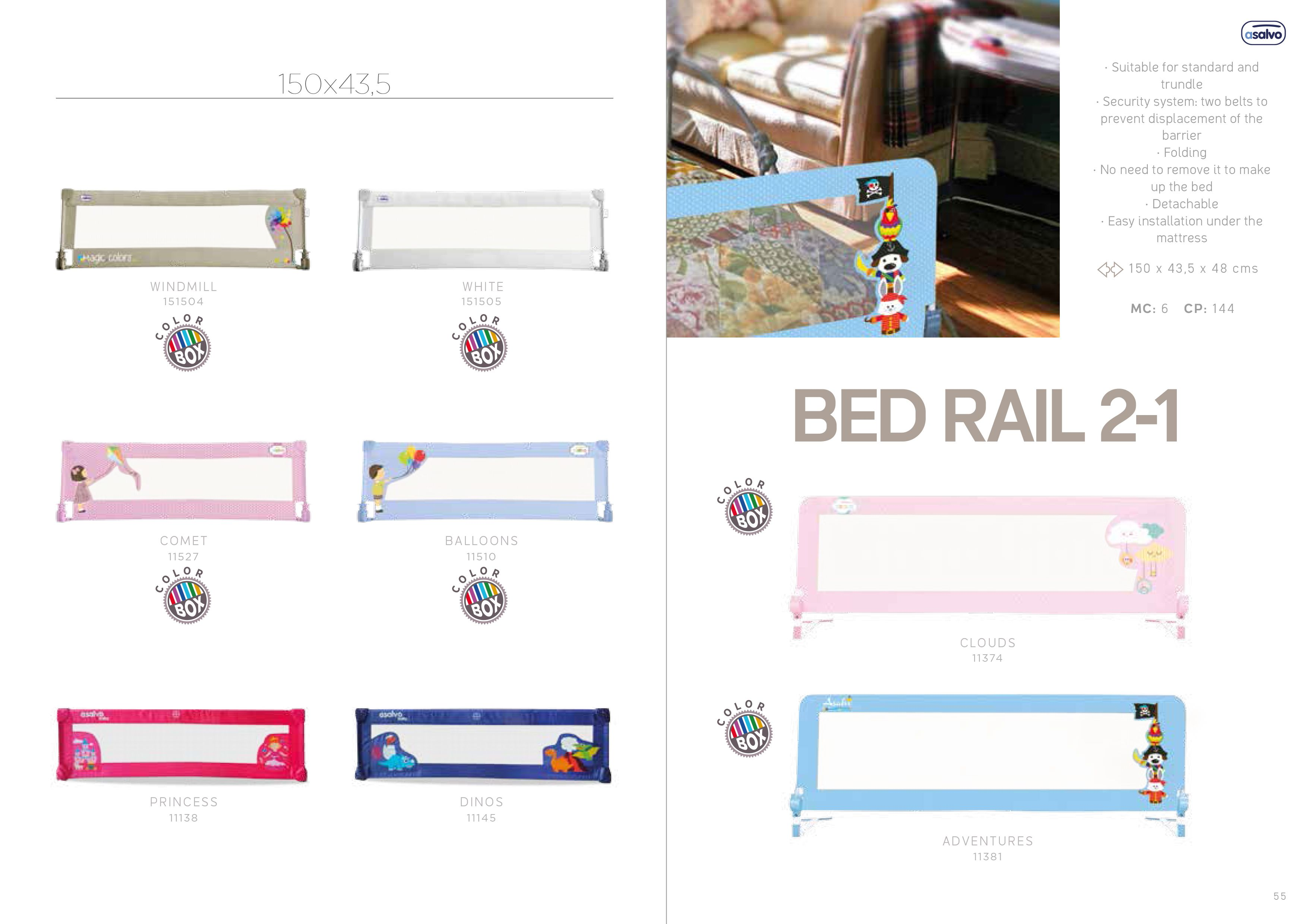Bed Rail 2-1 by Asalvo l #madewithlove