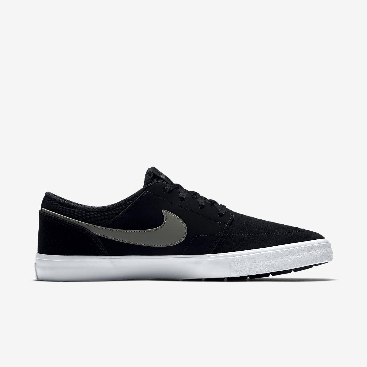 Nike Sb Solarsoft Portmore II Men's Skateboarding Shoe - 11.5 ...