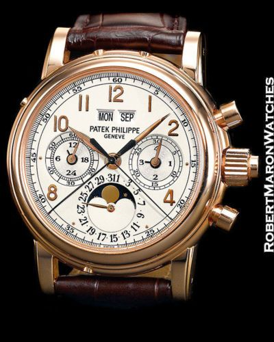 PATEK PHILIPPE 5004 R 18K ROSE GOLD SPLIT SECONDS CHRONOGRAPH PERPETUAL WATCH - http://menswomenswatches.com/patek-philippe-5004-r-18k-rose-gold-split-seconds-chronograph-perpetual-watch/ COMMENT.