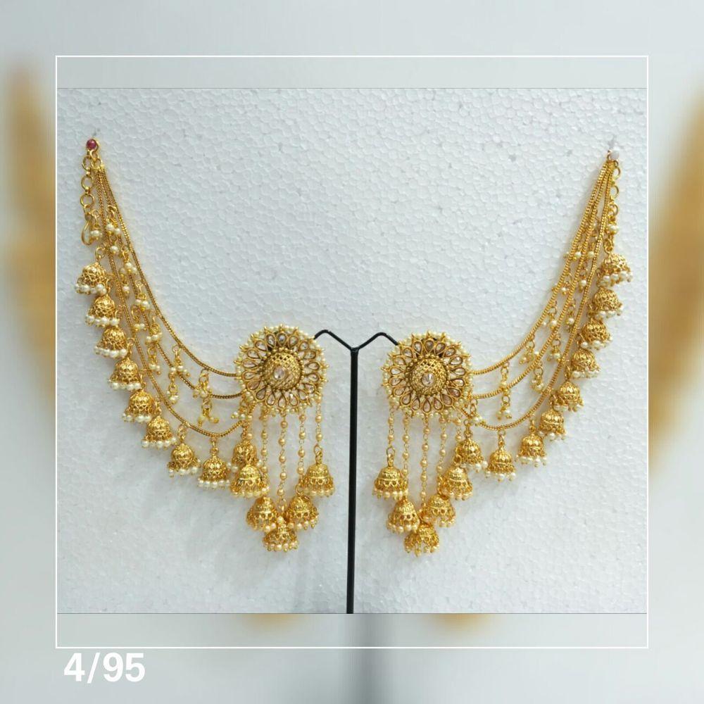 Indian Bridal Indian Jewelry Earrings Bahubali Jhumki Jhumka