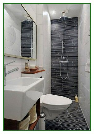 Nice Tips Very Small Bathroom Ideas Tiny Bathroom Ideas Small Narrow Bathroom Small Bathroom Remodel Modern Bathroom Remodel