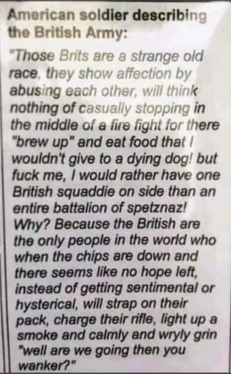 9gag United Kingdom In 2020 American Soldier Quotes British Army Quotes British Quotes