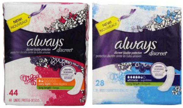 FREE Always Discreet Pads and Liners + $2.68 Money Maker at Meijer!
