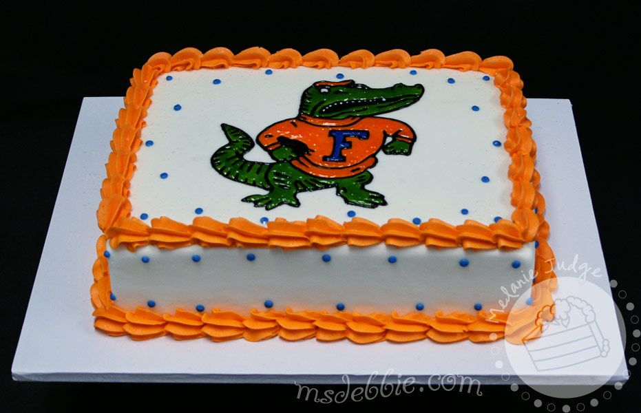 Idea For Grooms Cake He Loves The Fighting Gator Gators