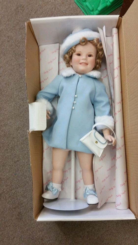 Danbury Mint Shirley Temple Sunday ~best From The Toddler Collection New By Brand, Company, Character