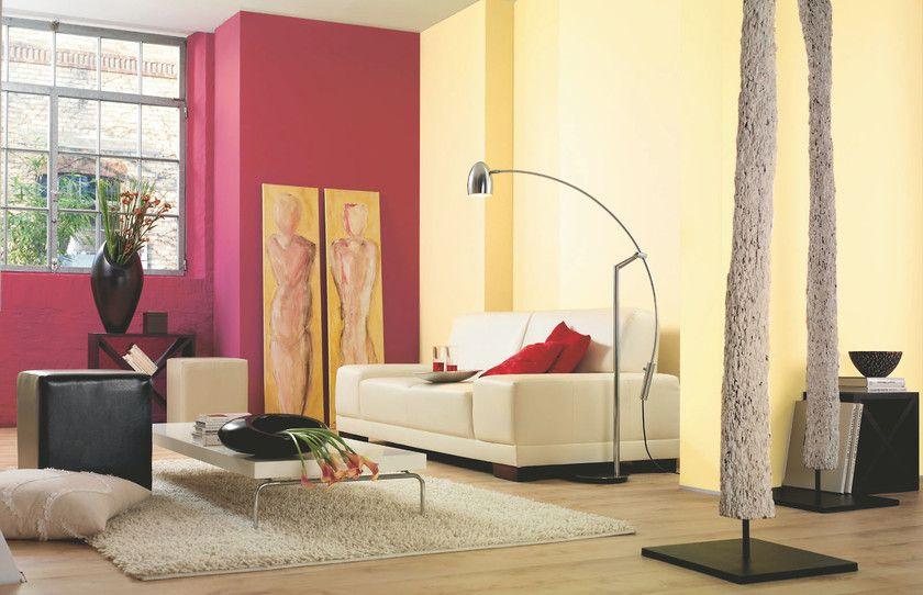Alpina Farbrezepte Ochsenrot Echte Vanille Mit Bildern Haus Deko Wohnzimmer Streichen Alpina Farben