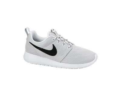25d40a1566c0 Nike Roshe Run Women s Shoe (size 8)(pure platinum white black ...