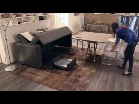 transformable sofa space saving furniture. divano trasformabile four seasons by ozzio transformable sofa italian space saving furniture t