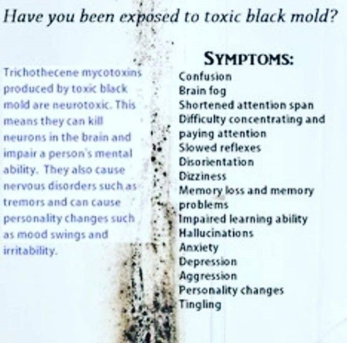 Toxic Black Mold Side Effects Natural Remes Home After