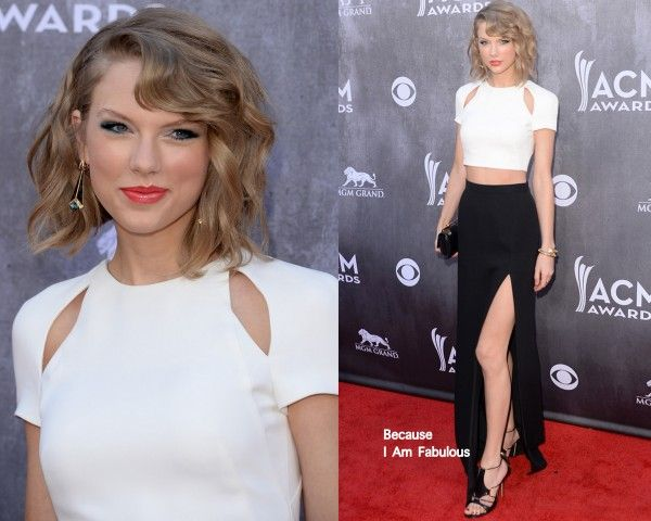 Taylor Swift Wearing J Mendel - 2014 ACM Awards