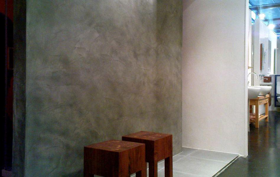 Polished Concrete Wall General Reno Ideas Plaster Walls