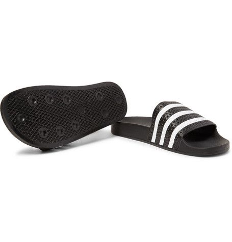 brand new ed638 c141d Adidas Originals   Adilette  slides are an archival style from the  70s,