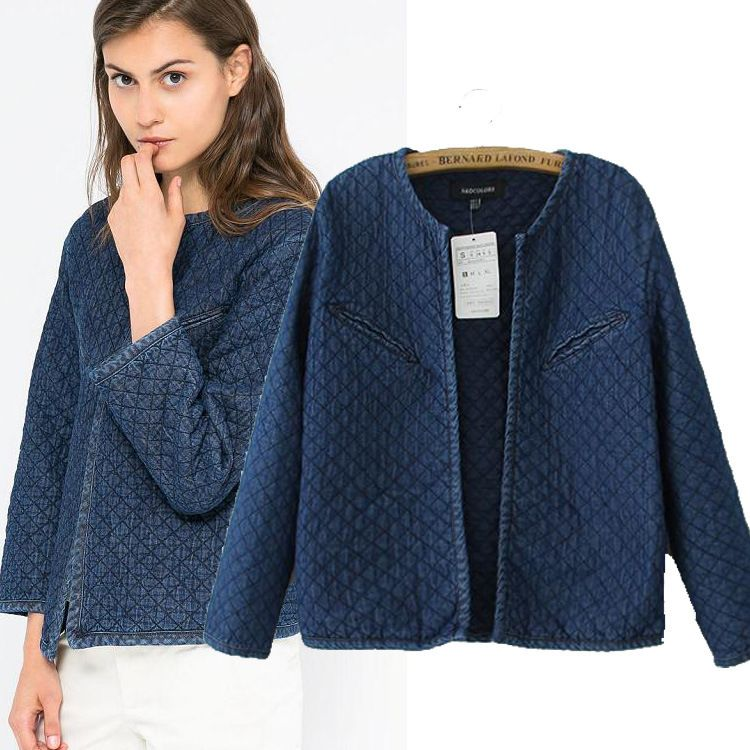 2015 Autumn Winter New Arrival Paris Style Quilting Quilted Cotton ...