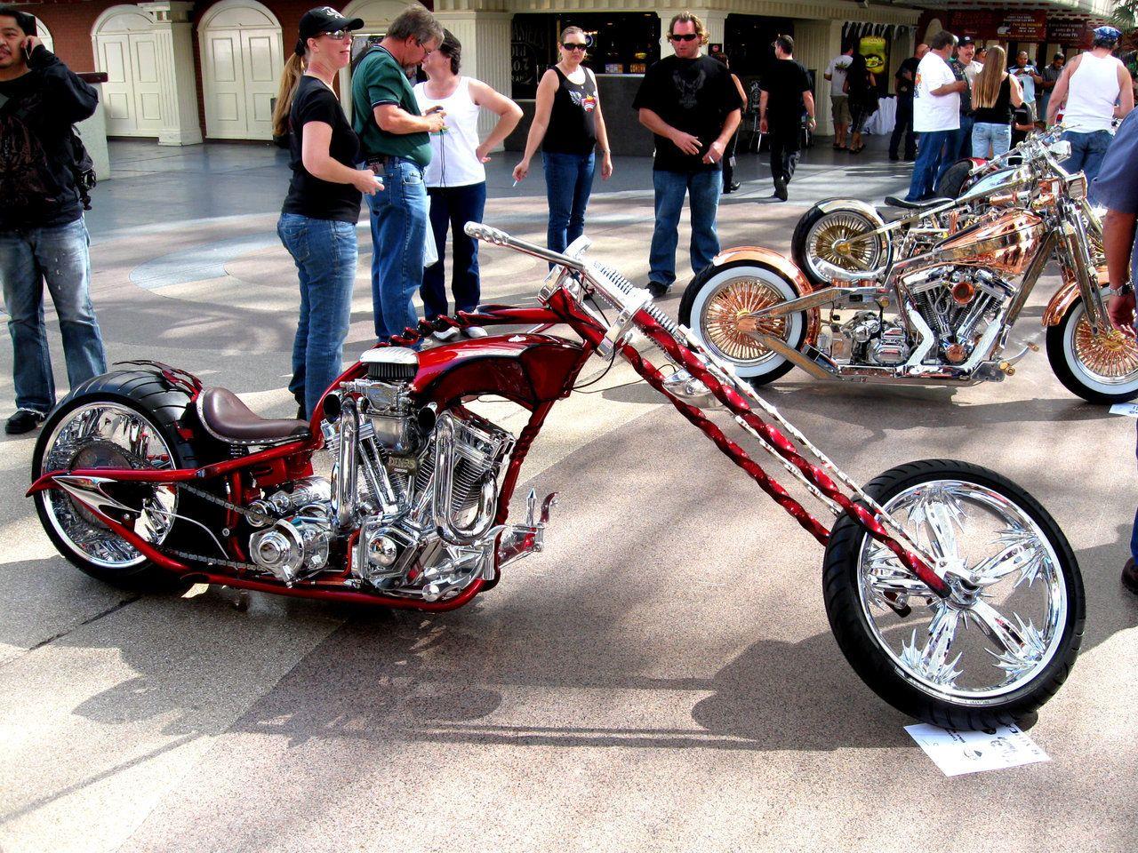 It Looks Like A Cross Between A Chopper And A Street Bike