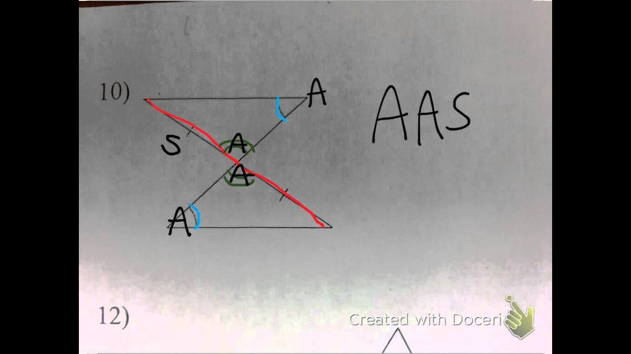 Using Sss Sas Asa Aas And Hl To Prove Two Triangles Are Congruent Prove It Asa Sss [ 720 x 1280 Pixel ]
