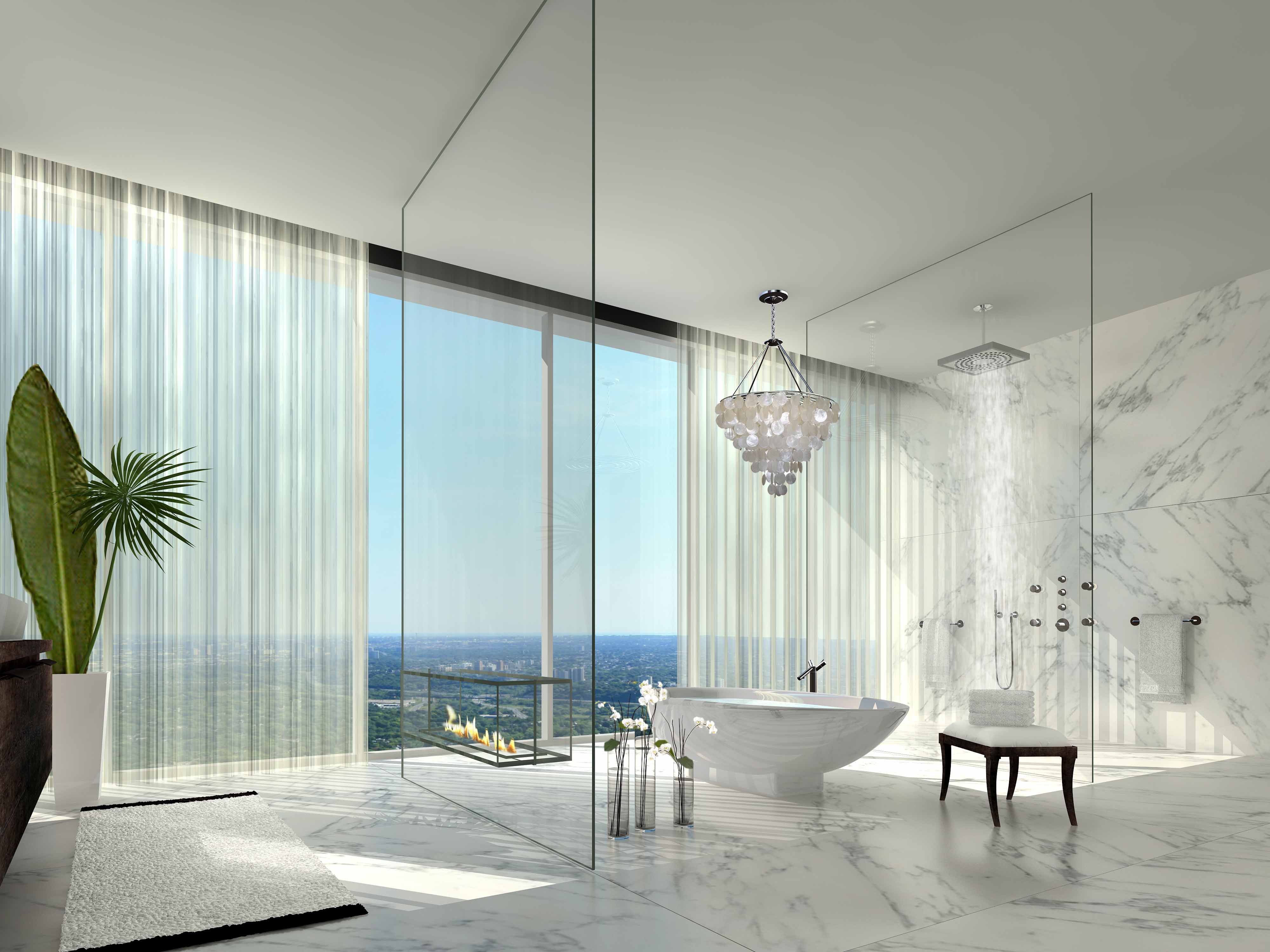 This Sleek And Modern Penthouse At One Bloor Has An
