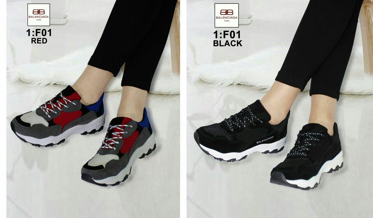 Sepatu Balenciaga F01 Semprem Bahan Kulit 36 22 5cm 37 23cm 38 23