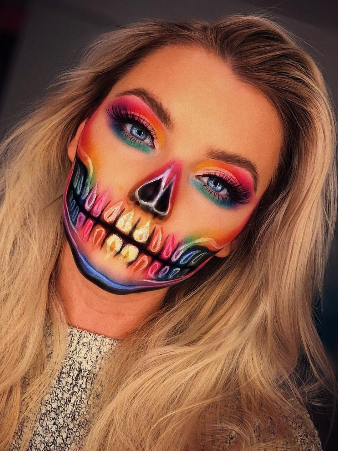 The Cutest And Creepy Halloween Makeup Ideas Maquillaje De