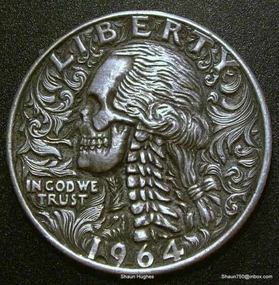 Hobo coin artwork   | Art | Hobo nickel, Coins, Coin art