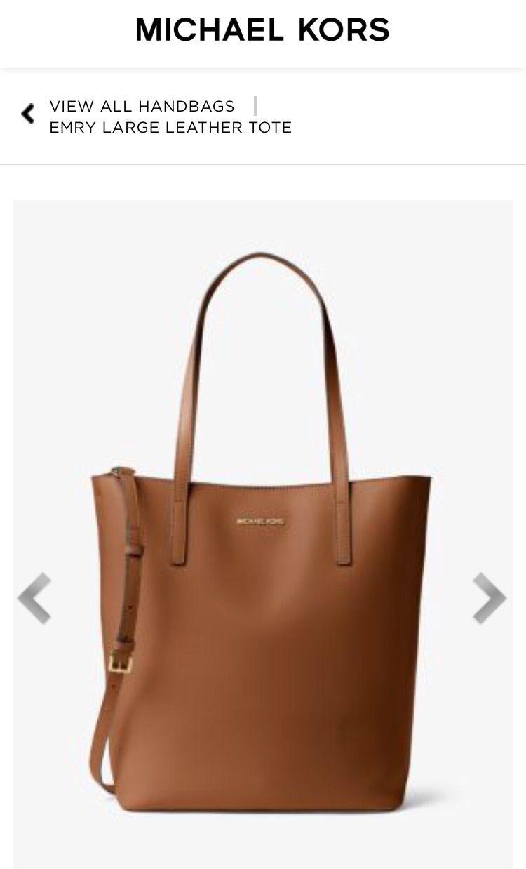 4018823702341c North South, Handbags Michael Kors, Italian Leather, Nord Sud, Shoe Bag,