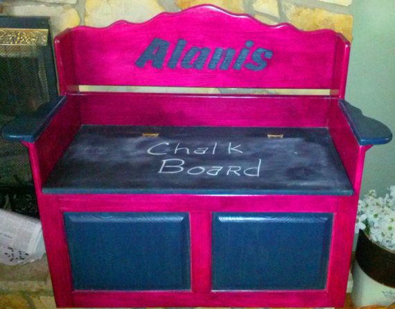 Incredible Toy Box Chest Storage Bench Wooden Handmade By Caraccident5 Cool Chair Designs And Ideas Caraccident5Info