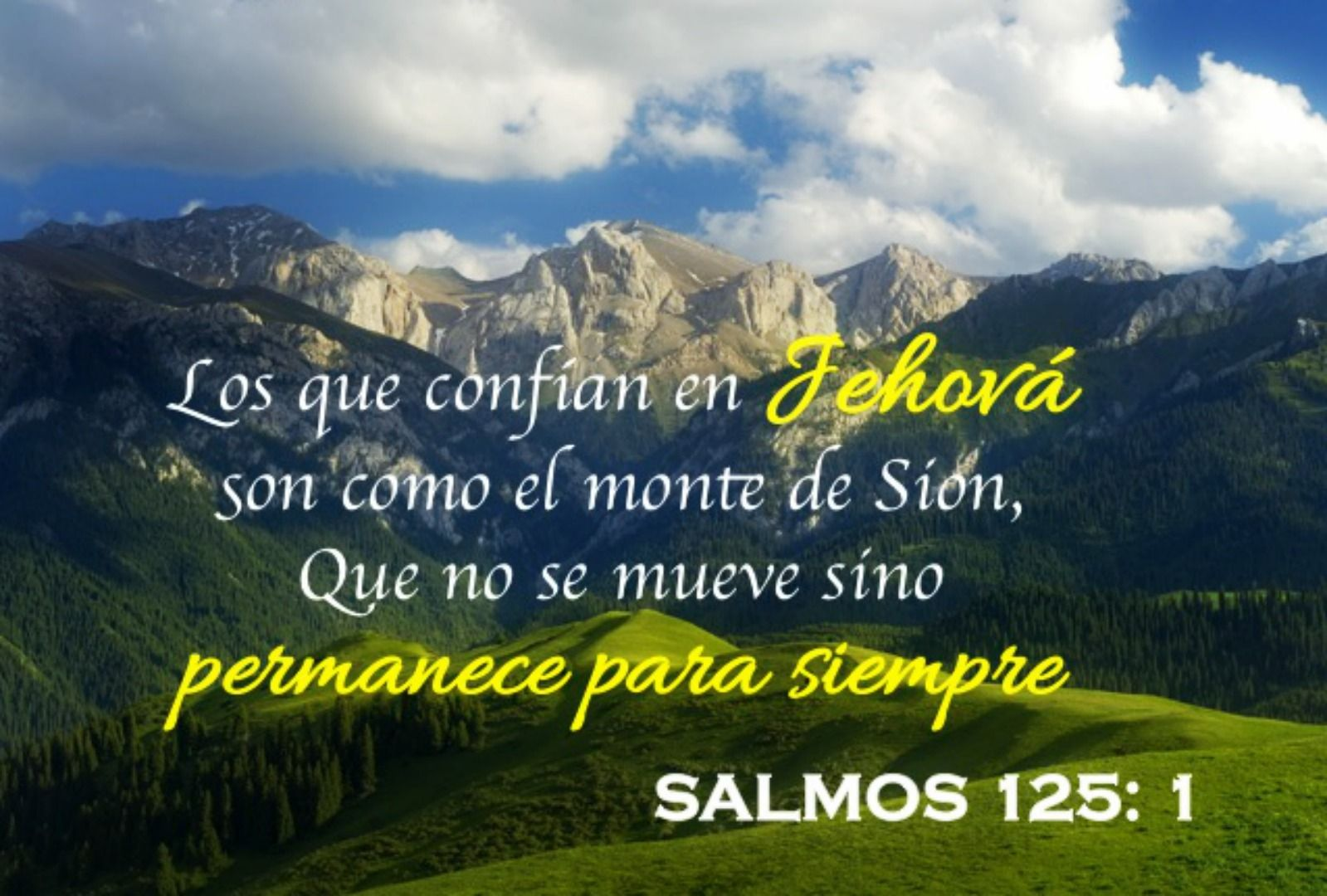 Resultado de imagen para salmo 125