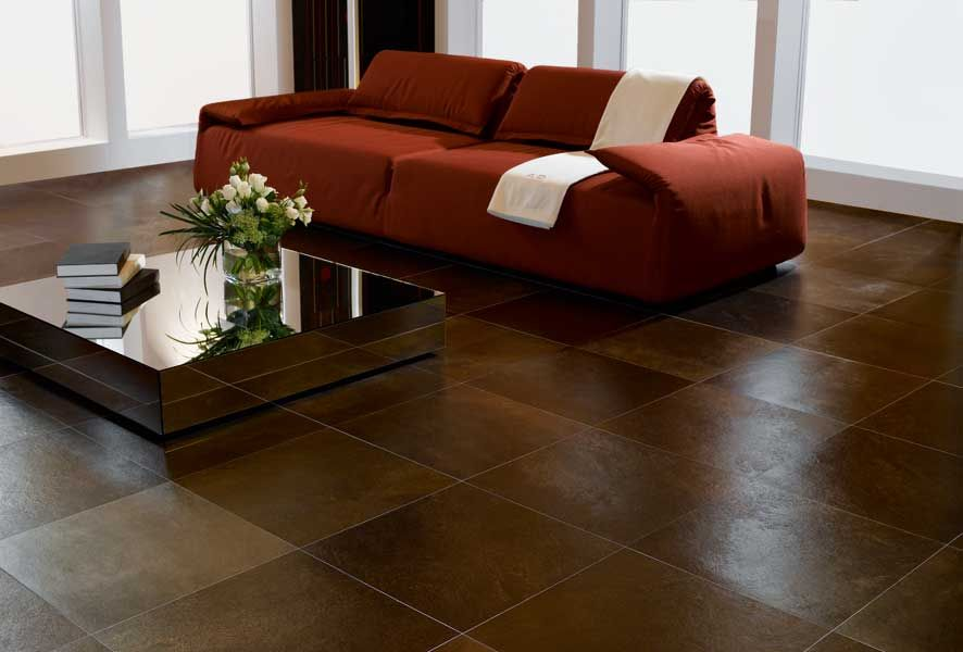 Living Room Floor Tiles Design Amusing Tile Might Be More Durable But I Don't Want My Living Room To Design Decoration