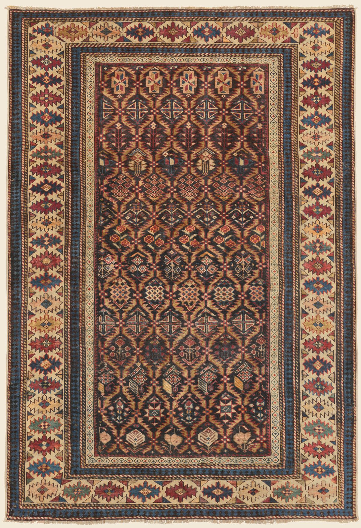 Shirvan 3 8 X 5 4 Late 19th Century Price 2 800 Southeast Caucasian Antique Rug Claremont Rug Company Rugs Claremont Rug Company Antique Rugs
