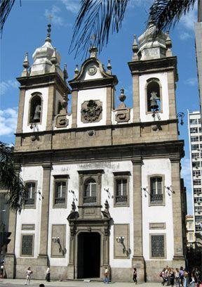 Igreja De São José Centro Rio De Janeiro Rj Brasil Igreja Arquitetura Catedral