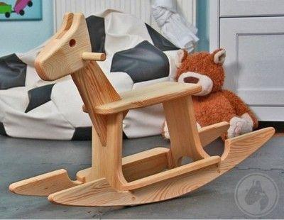 Konik Na Biegunach Polska Kultowa Zabawka 6068746792 Oficjalne Archiwum Allegro Toddler Toys Rocking Chair Decor