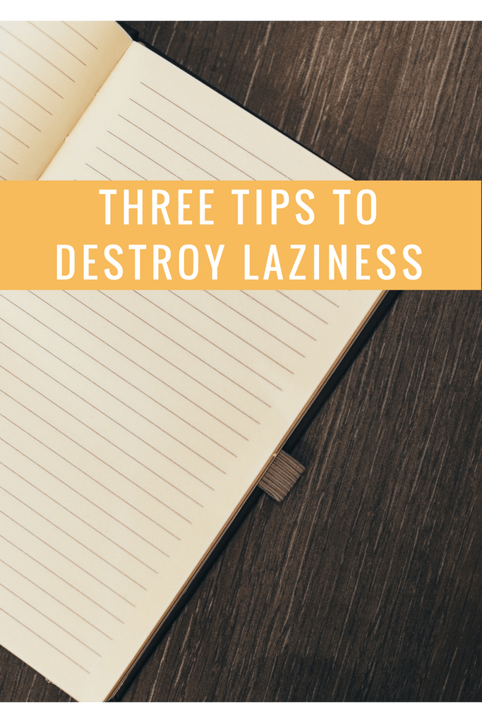 Here are some great ways to get over #laziness and get #productive