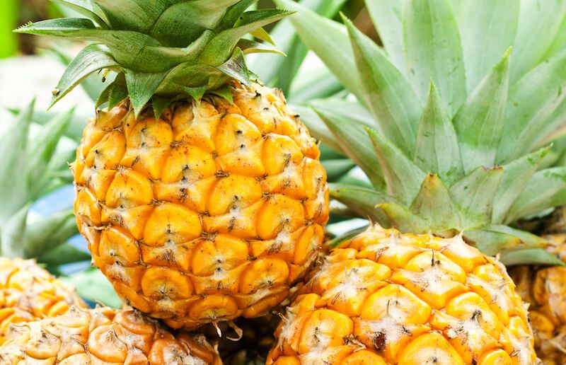 pineapple the most effective fruit for battling