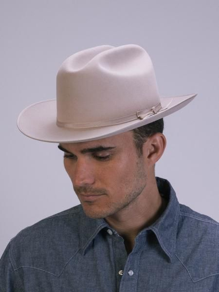 Stetson - Open Road Hat Silverbelly  fafc93ce32e