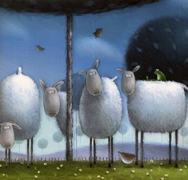 Russell the sheep by rob scotton les moutons the sheeps - Image mouton humoristique ...