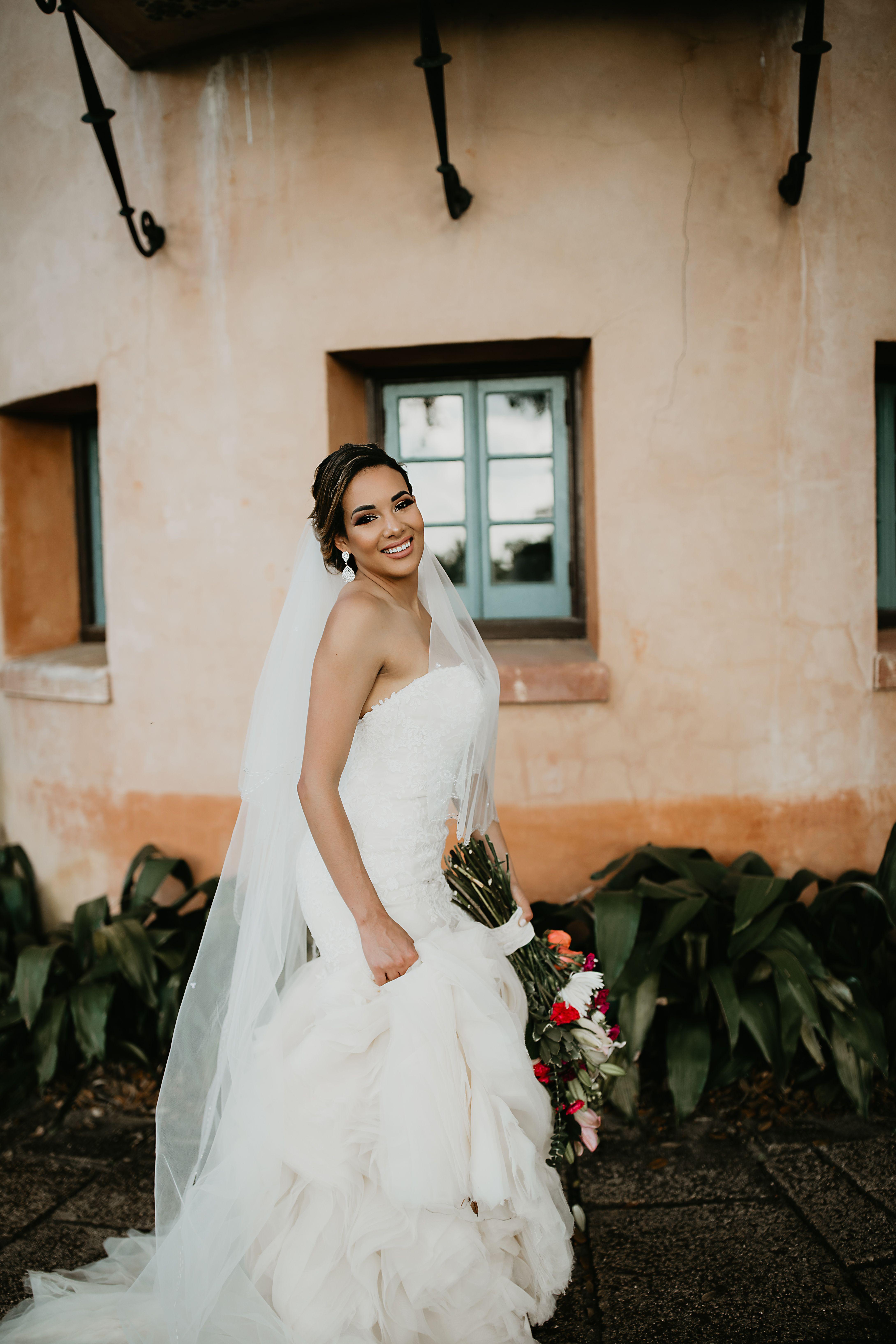 Bok tower gardens bridal session in 2020 bridal