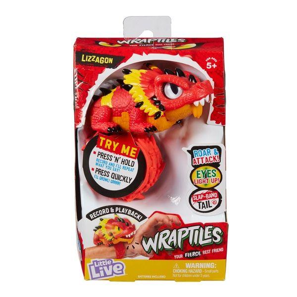 Little Live Pets Wraptiles Lizzagon Smyths Toys Little