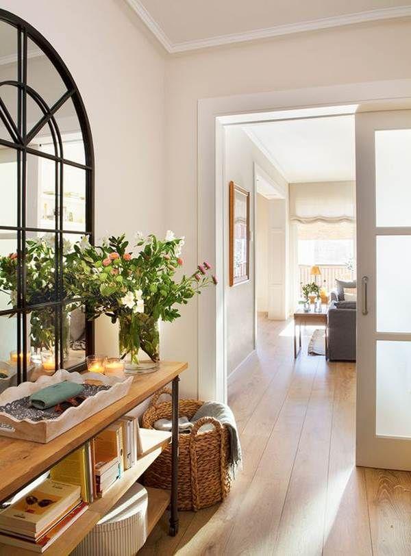7 Ideas Para Decorar Recibidores Tips Deco Pinterest Hall - Ideas-para-decorar-recibidor