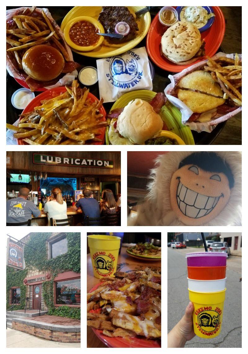 Restaurants To Visit In Stillwater Oklahoma Including Eskimo Joes Granny S Mojo Ore Via Tammileetips