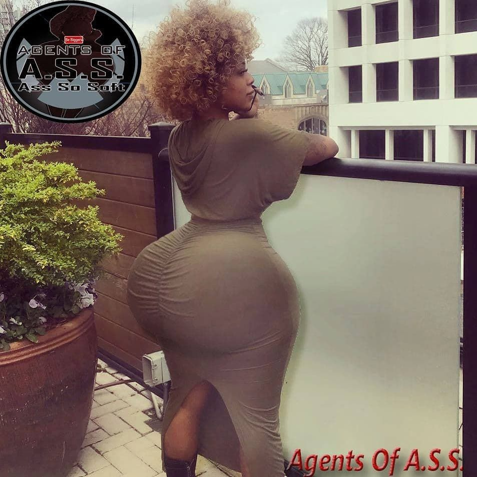 "therealagentsofass: ""agent a.s.s. approved!!!!!!! #bigbooty #bigass"